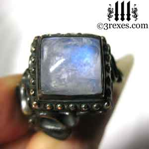 brass-raven-love-wedding-ring-gothic-moonstone-cocktail-band