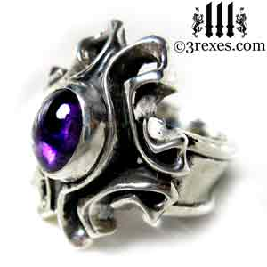 empress-gothic-ring-925-sterling-silver-purple-amethyst-february-birthstone-statement-jewelry-side-3-rexes-jewelry