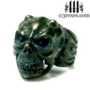 gargoyle-skull-ring-dark-devil-brass-band-for-men