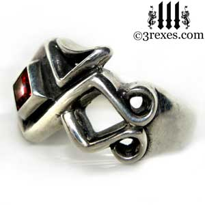 mens-bohemian-garnet-january-birthstone-stone-z-ring-celtic-silver-band-3-rexes-jewelry
