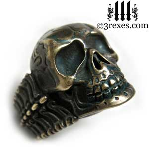 pirate-skull-ring-black-brass-biker-bone-band-3-rexes-jewelry