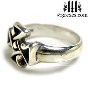 mini-celtic-cross-silver-ring-friendship-jewelry-side-detail-3-rexes-jewelry