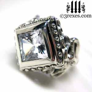 raven-love-silver-wedding-ring-gothic-white-cz-stone-medieval-engagement-band