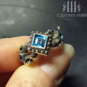 royal-princess-silver-engagement-ring-medieval-blue-topaz-stone-december-birthstone-jewelry-2