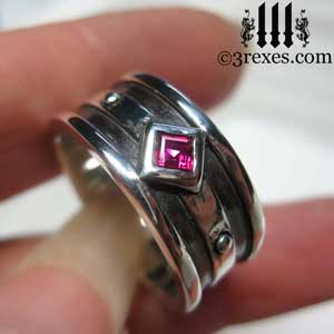 ruby-stones-moorish-gothic-one-silver-ring-3-rexes-jewelry