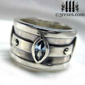 silver-moorish-marquise-engagement-ring-blue-topaz-stone-december-birthstone-3-rexes-jewelry