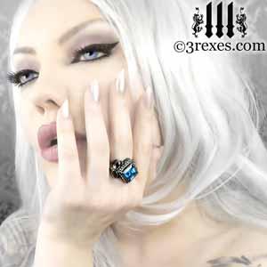 silver-raven-love-ring-wedding-band-blue-topaz-gothic-model-300.jpg