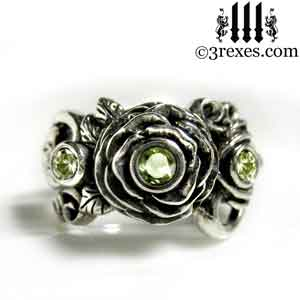 silver-rose-moon-spider-ring-green-peridot-stone-wedding-engagement-band.jpg