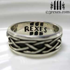 soul-love-anam-gra-mens-silver-celtic-wedding-ring-3-rexes-logo