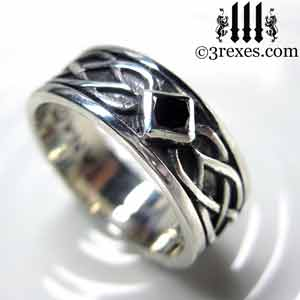 Beau Soul Love Celtic Wedding Ring 925 Sterling Silver