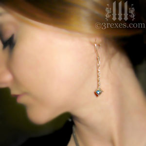 studded-jeweled-earrings-short-2-blue-topaz-model