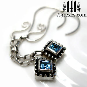 studded-jeweled-earrings-short-2-blue-topaz