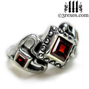womans-silver-princess-love-ring-garnet-stone-gothic-engagement-band-side-detail.jpg